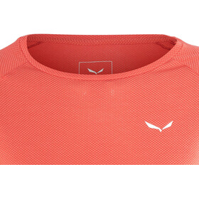 Salewa Pedroc Delta Dry - T-shirt manches longues Femme - rouge